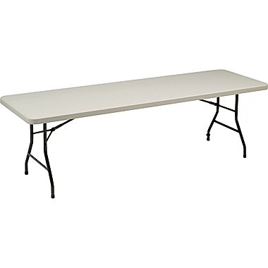 Staples 8 Folding Table For 59 99 Free Shipping Hot