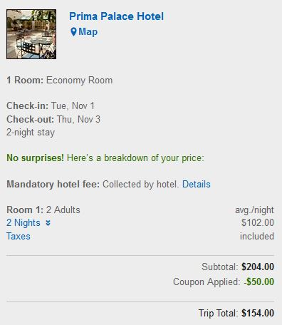 Expedia: $50 Off A Hotel Booking Of $200 Or More! - Hot Deals