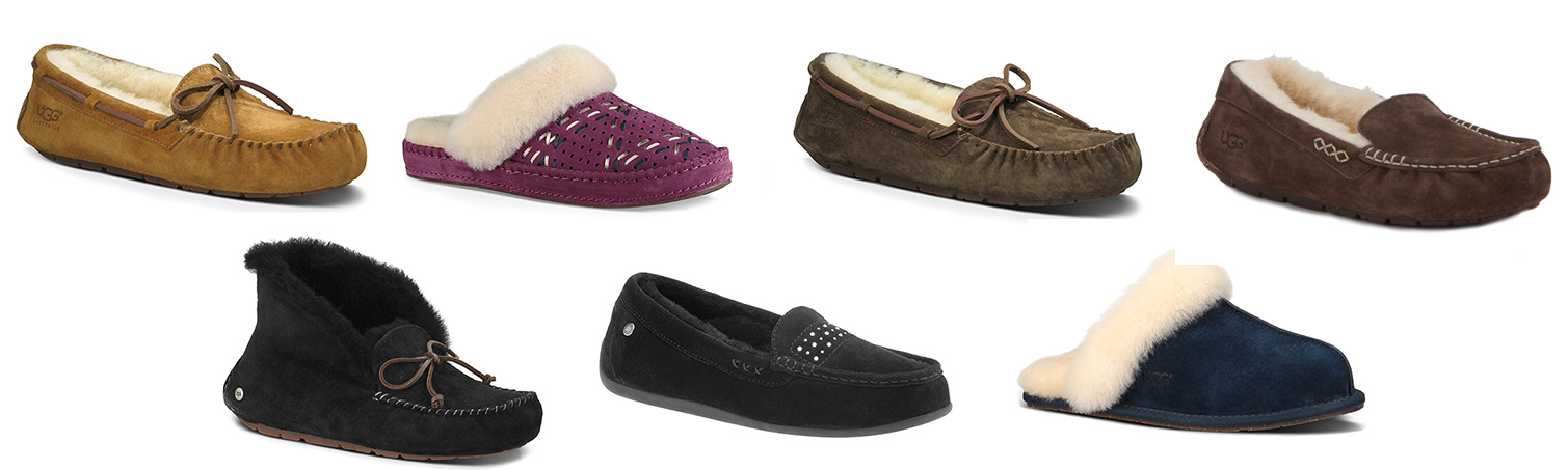 34b19d27efb All UGG and ABEO shearling slippers on sale for $69 at The Walking ...