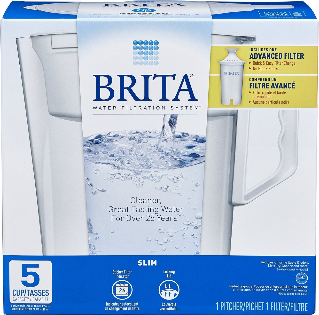 Brita water filter ad Campaign Brita Cup Slim Water Pitcher With Filter For Only 619 Amazoncom Brita Cup Slim Water Pitcher With Filter For Only 619 Hot