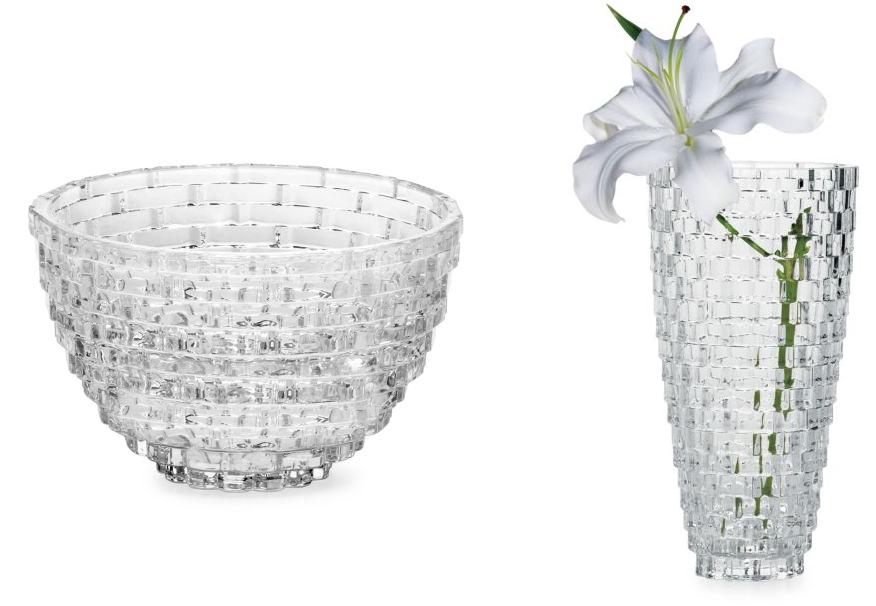 Mikasa Palazzo Crystal Bowl Or Mikasa Palazzo Basket Weave Wide