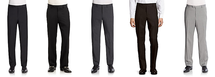 889ae38f0e4 Saks Fifth Avenue, Hugo Boss, Hickey Freeeman and Other Designer Men's Wool  Dress Pants On Sale From Only $31.47!