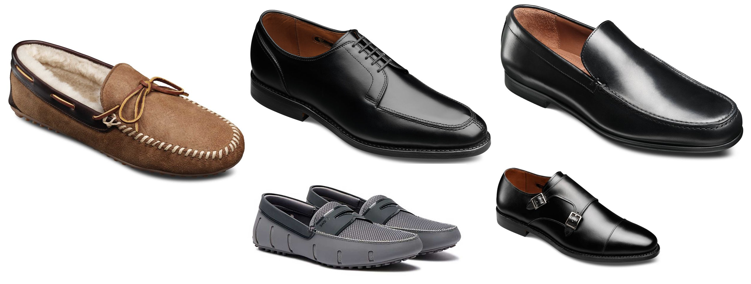 0dc37b21a84d Extra 20% Off Clearance and Factory Seconds at Allen Edmonds! (Sandman  Shearling Slipper  37! Lasalle  107!) + Extra  50 Off  250+ With Amex!