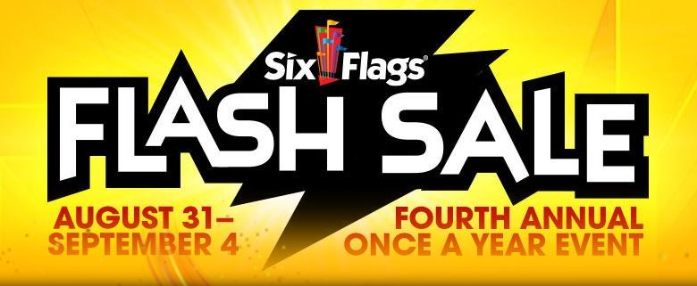 Six Flags Season Pflash Sale Up To 75 Off P Es Valid Now Until December 31 2018