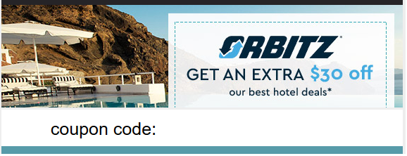 d50813f7da0c Get A  30 Off  100 Code For Hotel Bookings at Orbitz!