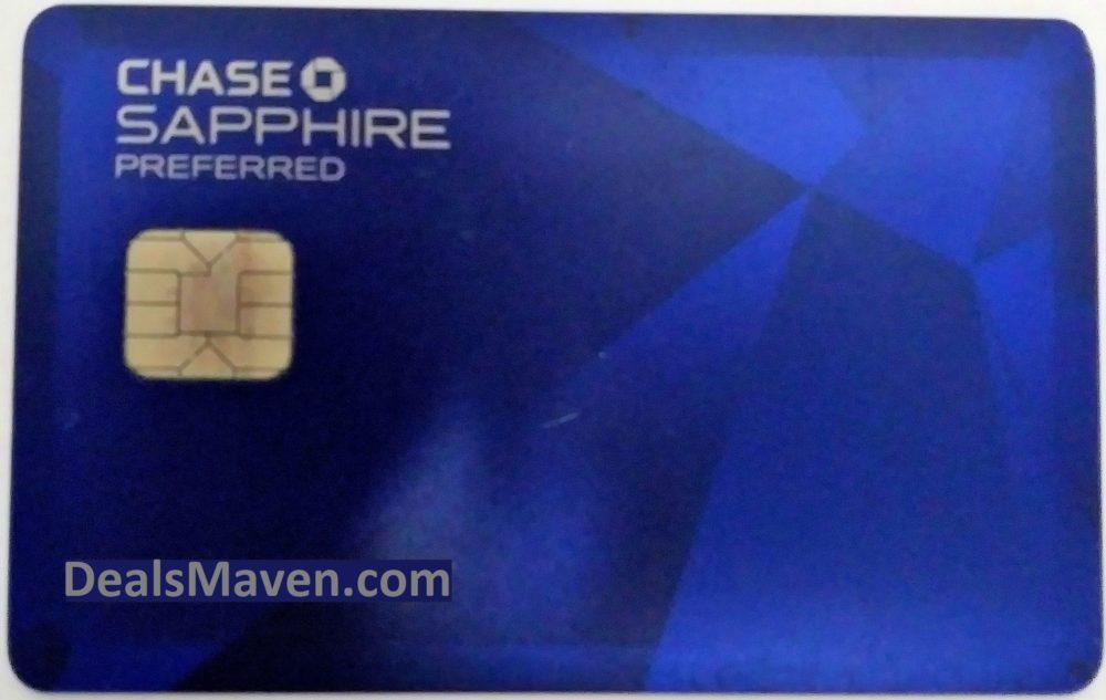 Chase Sapphire Preferred Credit Card 50000 5000 Bonus Points