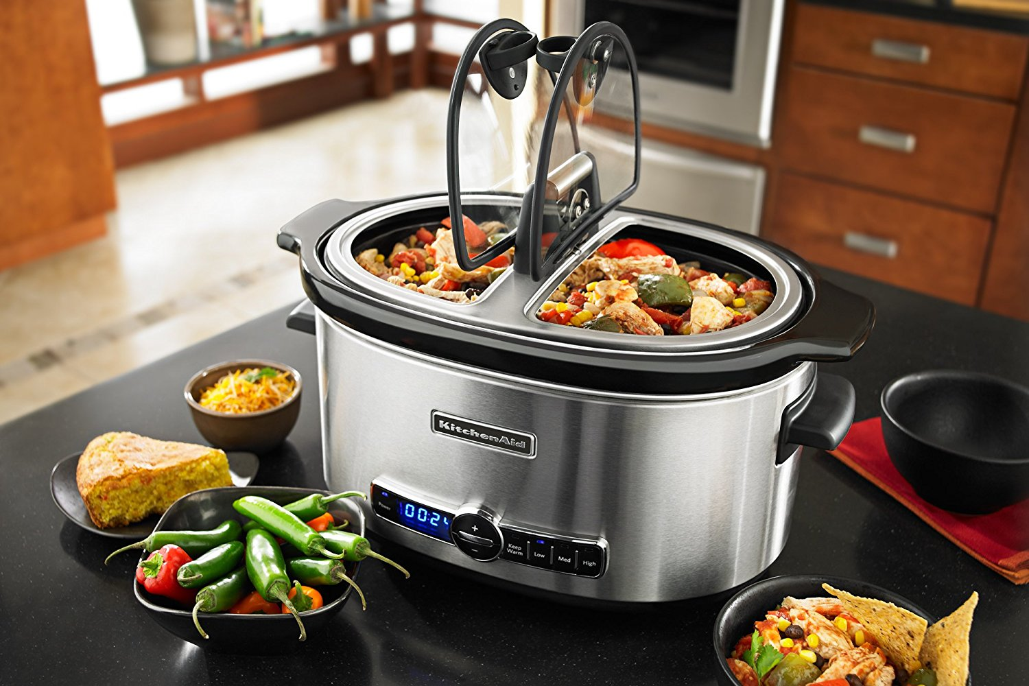 Price Drop - KitchenAid 6-Quart Stainless Steel Slow Cooker ...