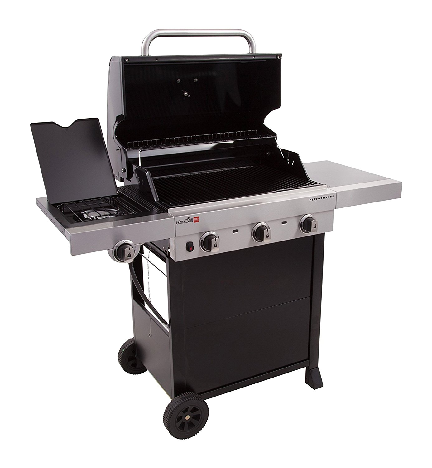 Char-Broil Performance TRU Infrared 450 3-Burner Cart Gas Grill For Only  $137.77 Shipped!