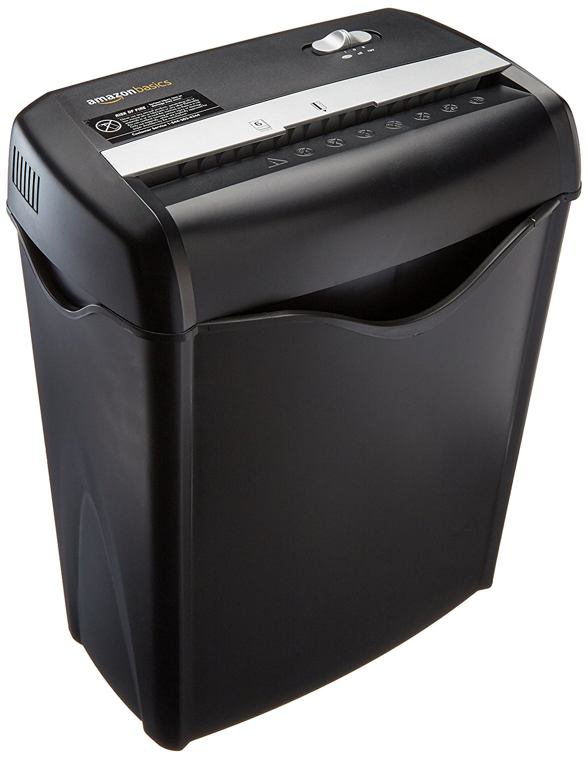 c3410cf8 Amazon Prime Members: AmazonBasics 6-Sheet Cross-Cut Paper and Credit Card  Shredder Only $23.74 Shipped