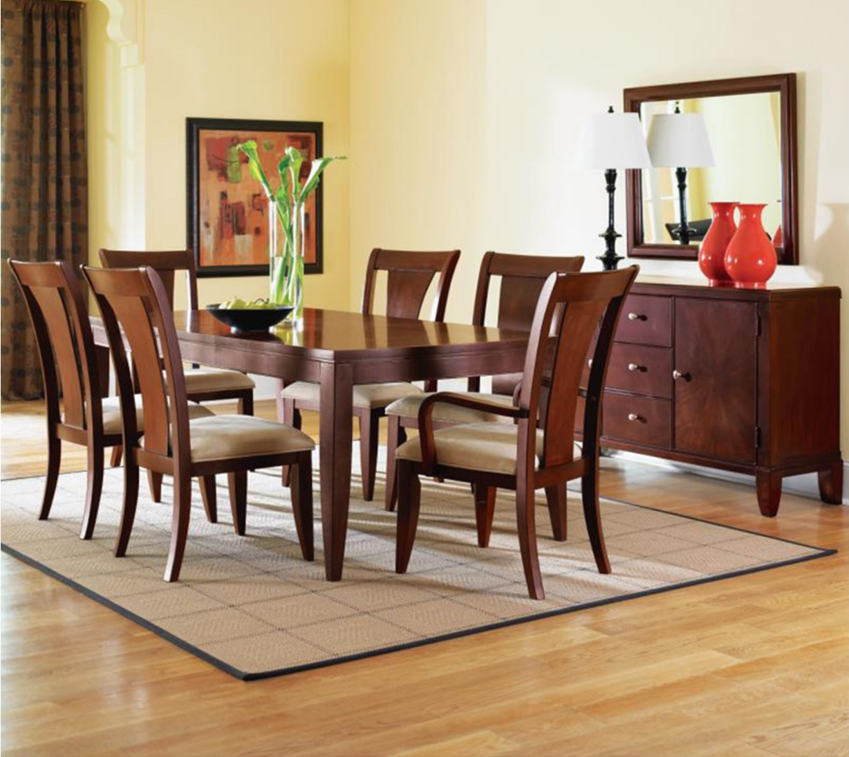Bon Metropolitan 7 Pc. Contemporary Dining Set, (Dining Table U0026 6 Chairs) Only  $899! (Was $1,700!)