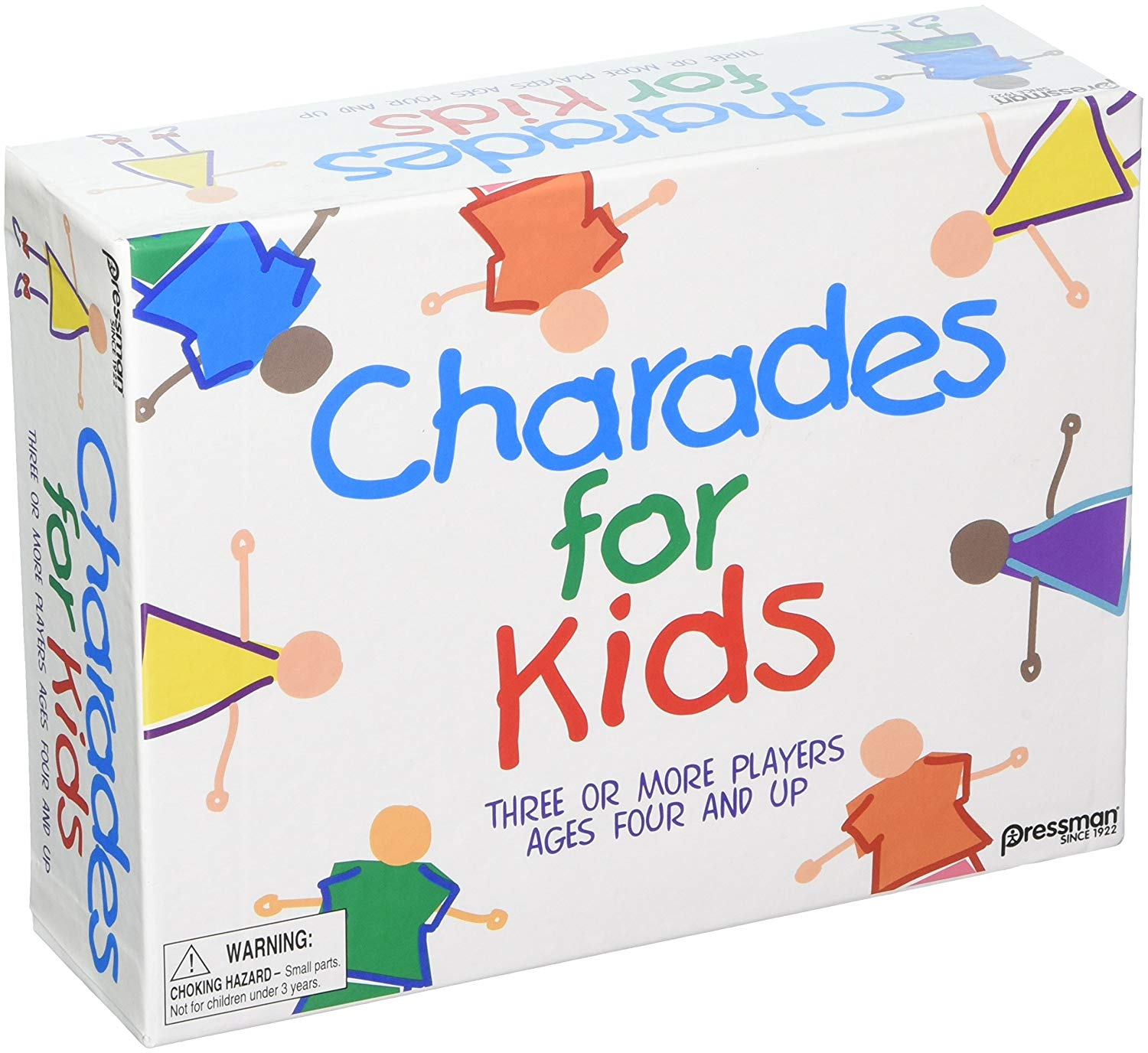 Pressman Toys The Best Of CHARADES For Kids (Set Of 6